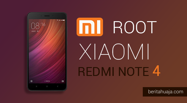 How To Root Xiaomi Redmi Note 4 And Install TWRP Recovery