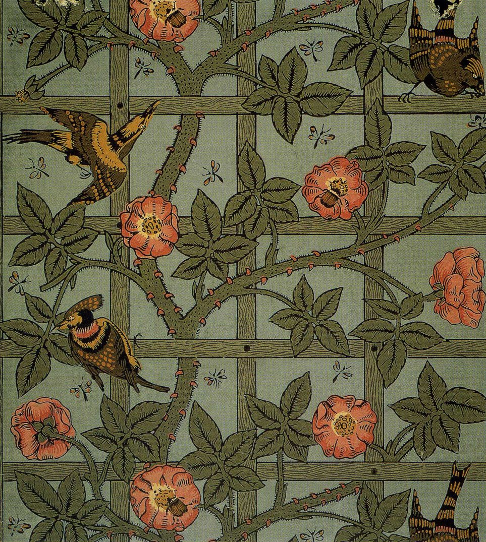 Art Artists William Morris Wallpaper Textiles