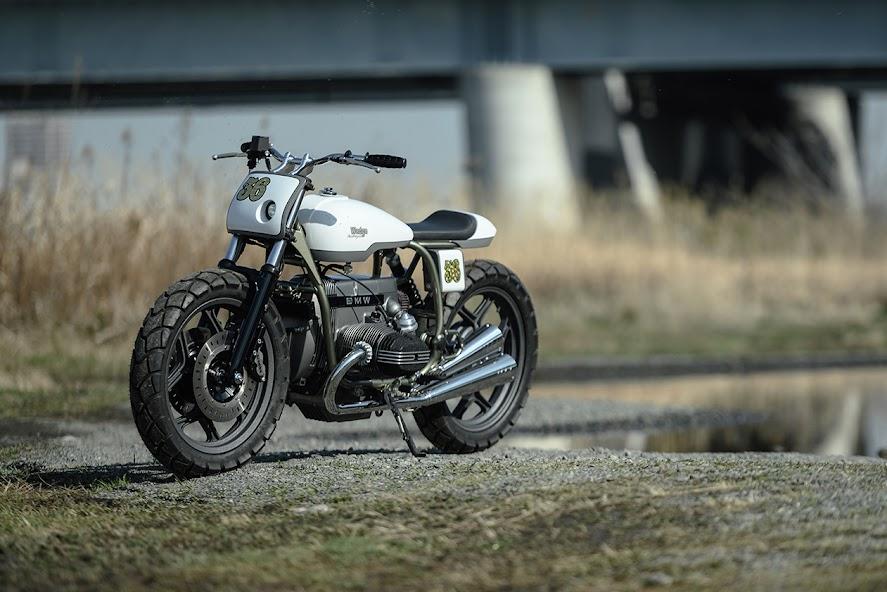 Custom BMW Airhead Boxer Street Tracker by Takashi Nihira, Wedge Motorcycles Japan - Photo Hiromitsu Yasui via Pipeburn