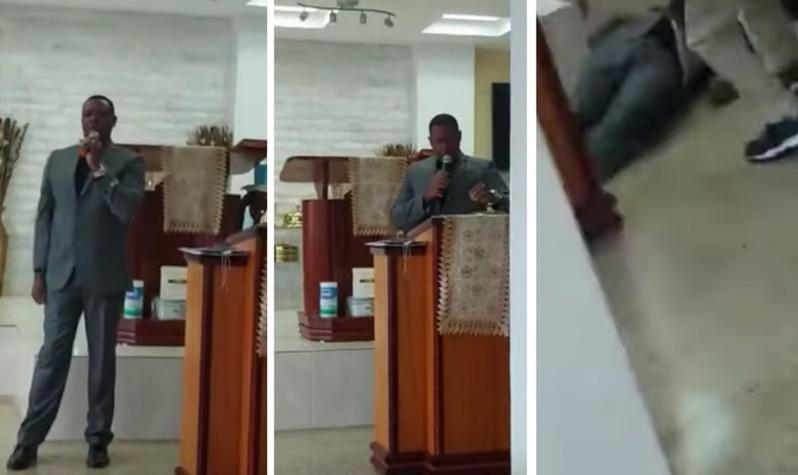 Pastor muere mientras predicaba