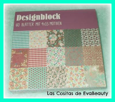 block papeles decorados manualidades y scrapbooking tedi