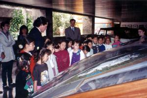 Visita de un grupo de alumnos a las instalaciones de la Volkswagen