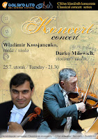Darko Milowich i Wladimir Kossjanenko koncert Bol slike otok Brač Online