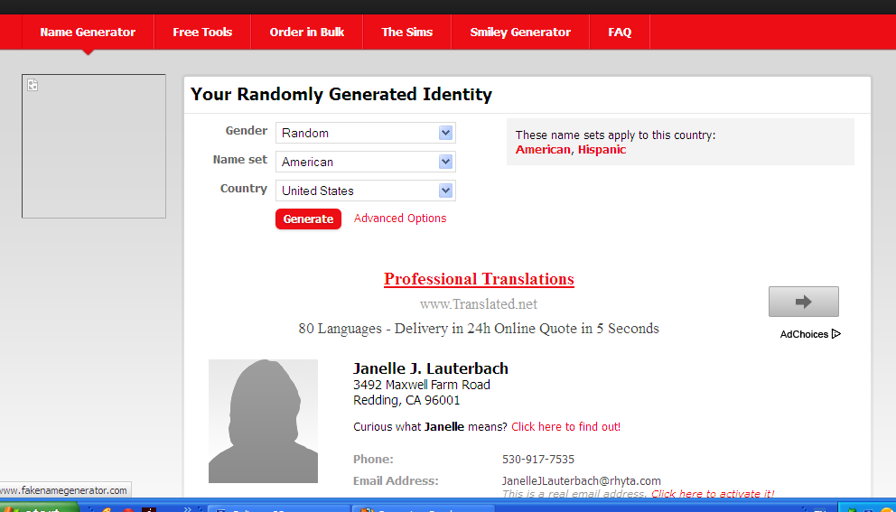 Etc Generate How Number To Nafis Ahmad Card address Fake credit Name
