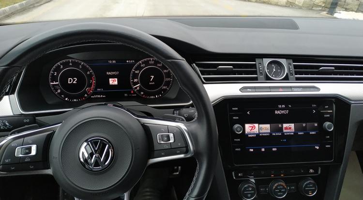 Volkswagen Arteon İçi