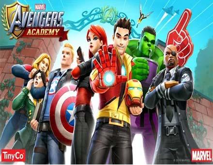 تحميل لعبة الخارفون مارفيل marvel avengers academy للموبايل والتابلت