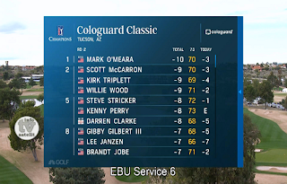 PGA Tour Cologuard Classic AsiaSat 5 Biss Key 6 March 2019