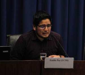 Escritor Emilio Paz
