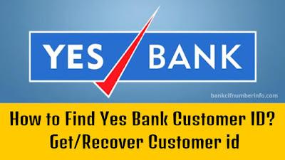 Yes Bank Customer ID
