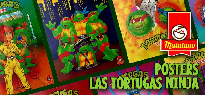 Posters Las Tortugas Ninja (Matutano, 1991)