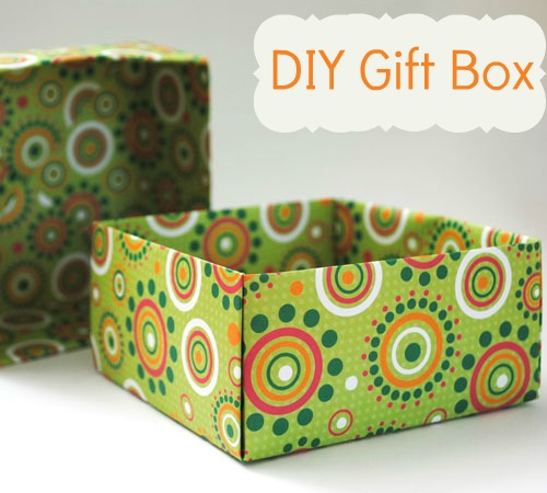 Decorative Boxes How To Make : How to make decorative gift boxes at home images