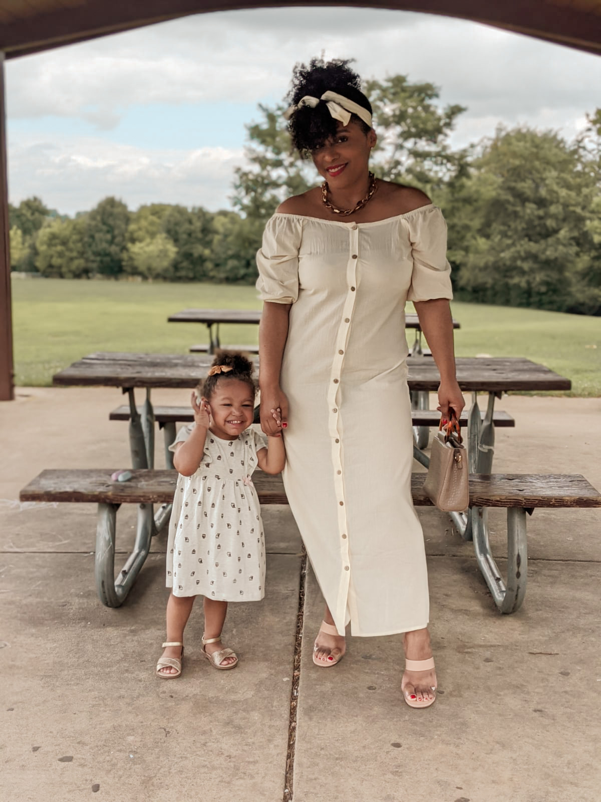 An Unintentional Mommy and Me Summer Outfit
