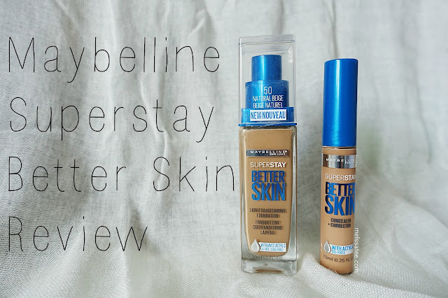 maybelline, maybelline foundation review, maybelline better skin review, maybelline better skin foundation review, maybelline better skin concealer review, maybelline beter skin foundation and concealer review, maybelline superstay better skin, maybelline superstay better skin foundation review