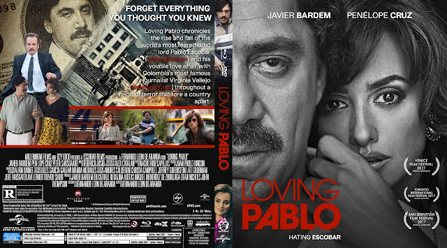 Loving Pablo Bluray Cover