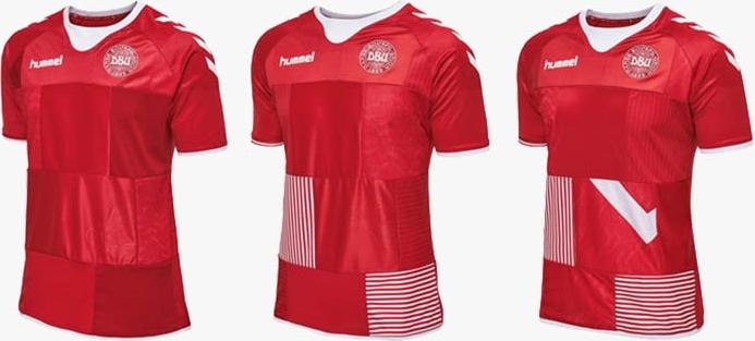 dd28781d76da4 Seleção da Dinamarca coloca à venda camisas usadas em jogo - Show de ...