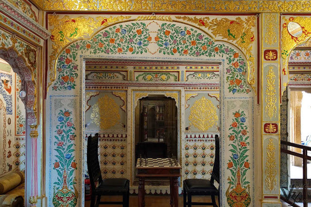 Jeevan vilas and the golden murals