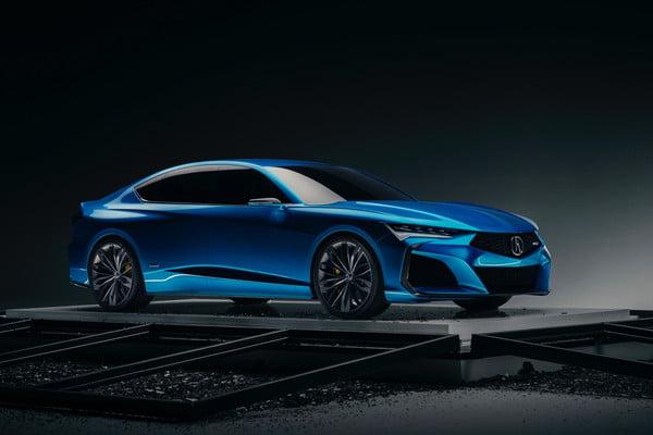 Acura Type-S, Successor To The Acura TLX Sedan, Unveiled