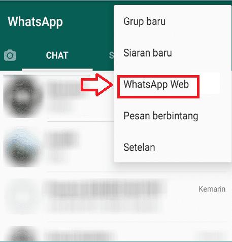 Langkah 1 Persiapan WhatsApp Web di HP
