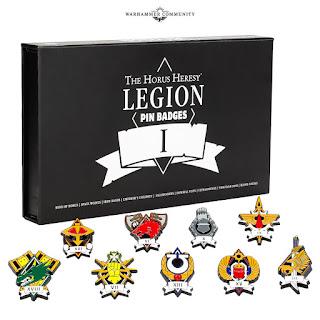 Legiones Astartes Pins