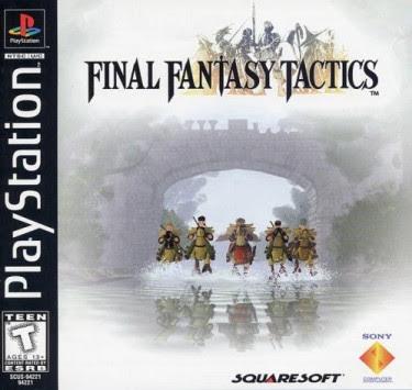 El Pequeño Rincón de los Grandes RPG - Final Fantasy Tactics - Caja NTSC USA