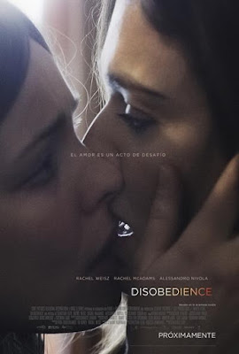 Disobedience 2017 DVD R1 NTSC Latino
