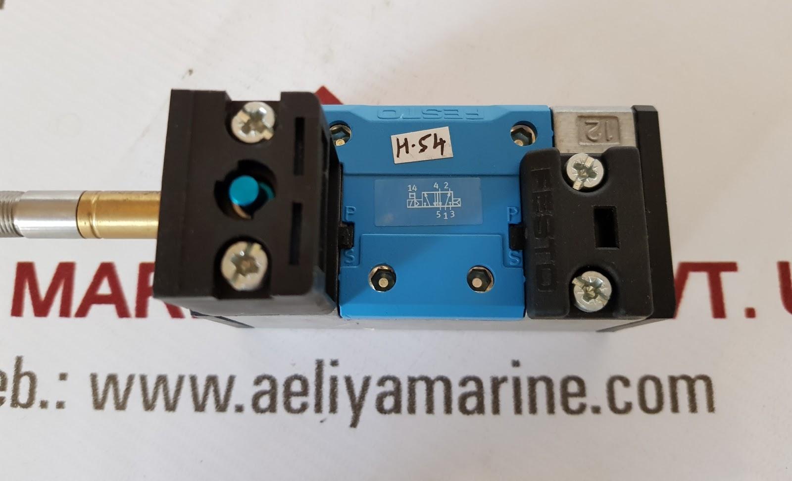 FESTO MFH-5/2-D-1-C SOLENOID VALVE | AELIYA MARINE TECH PVT LTD