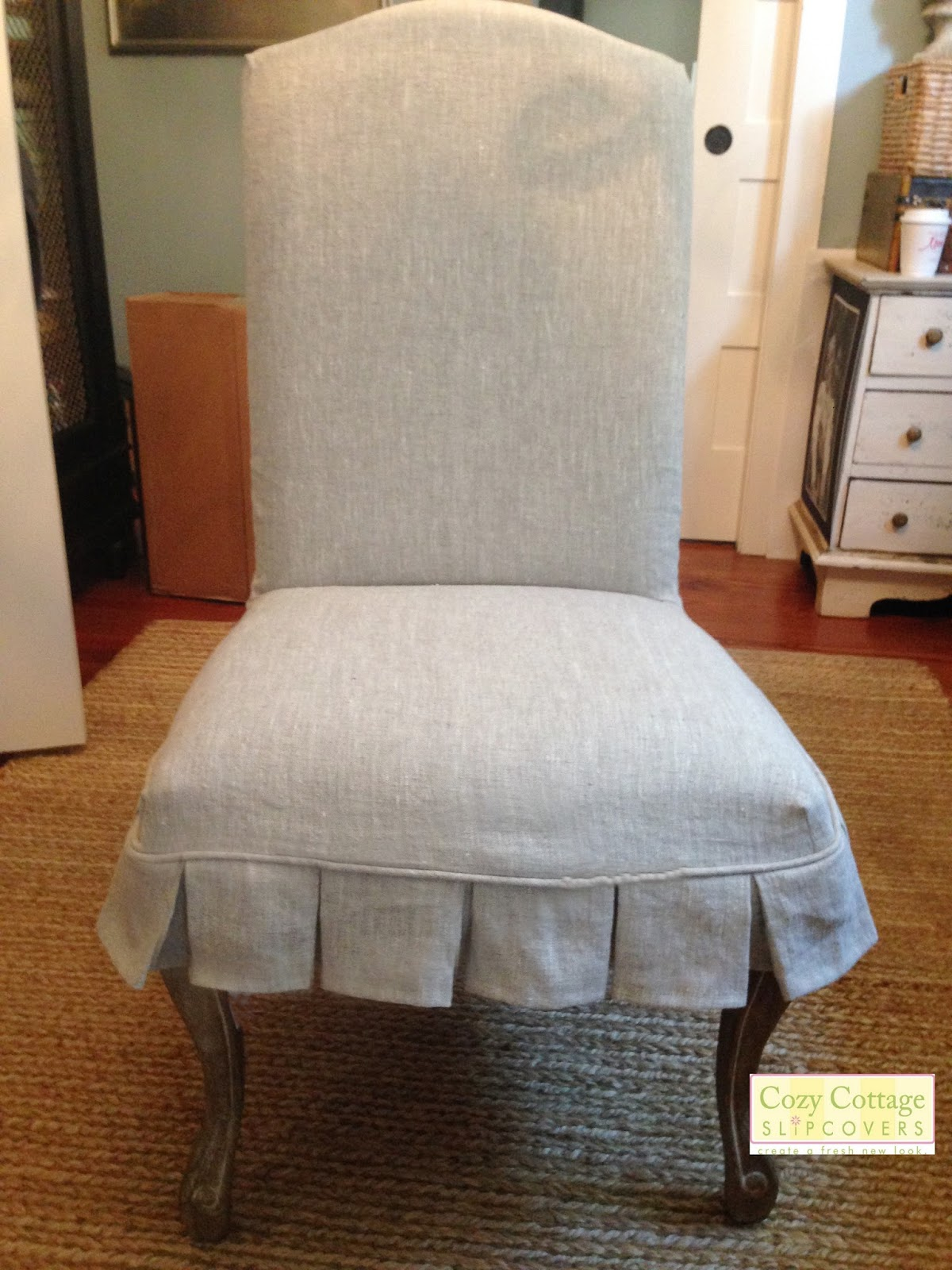 Cozy Cottage Slipcovers Rustic Linen Slipcovers
