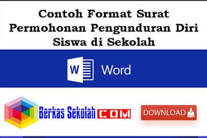 Contoh Format Surat Permohonan Pengunduran Diri Siswa di Sekolah