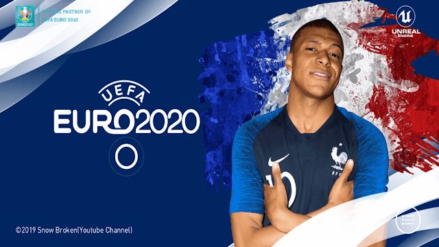 PES 2020 Mobile Patch UERO V4.5.0 Android Best Graphics New Original Logos and Kits 2021 Update