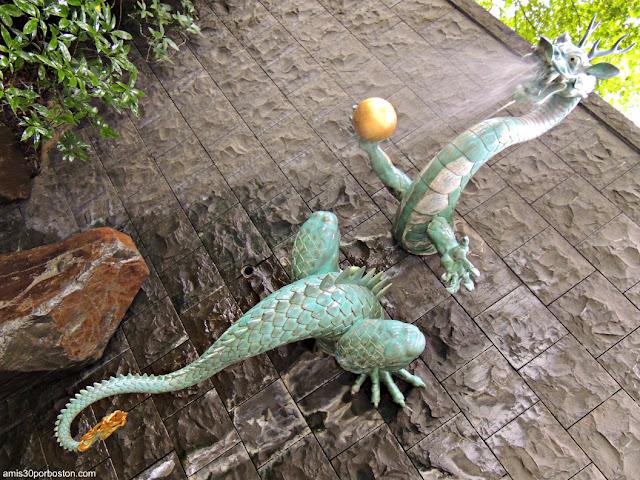 Dragón del Templo Seishoji en Tokio
