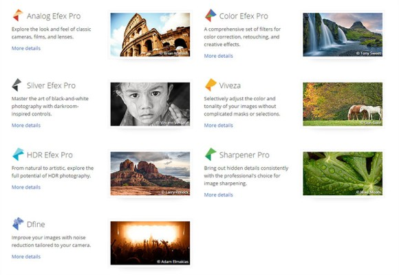 Foto Editor Google Nik Collection