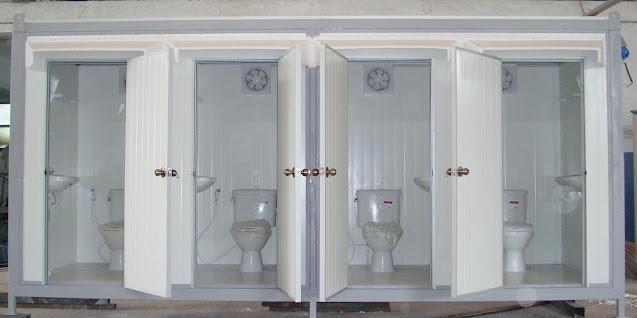 แบบห้องน้ำสำเร็จรูป 4 ห้อง