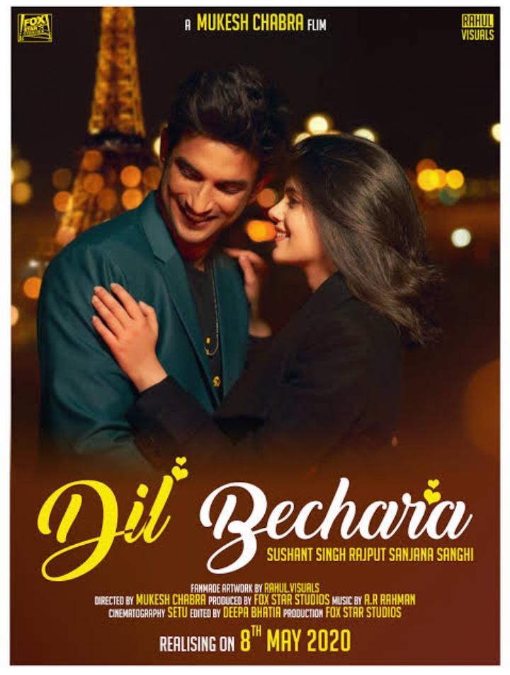 Dil Bechara Full Movie Download Filmyzilla