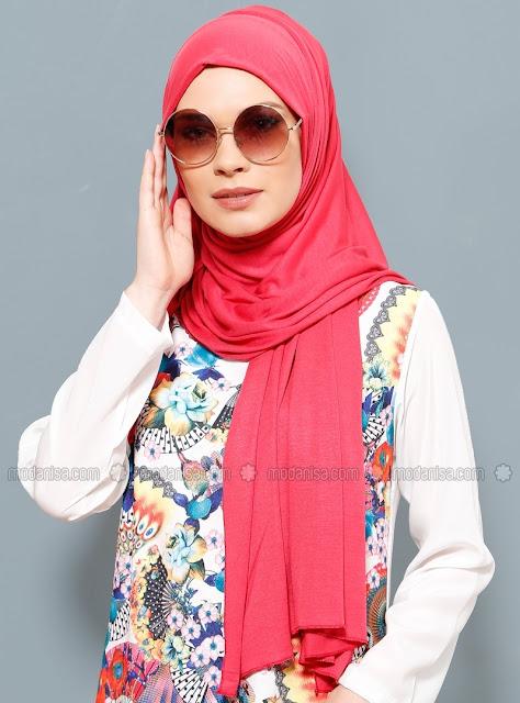 Foulard hijab moderne 2017