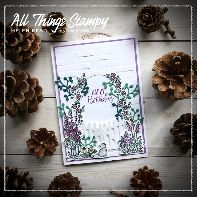 Graces Garden Gateway Stampin Up