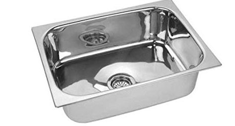 Prestige Oval Bowl Stainless Steel Vessel Sink (Silver)