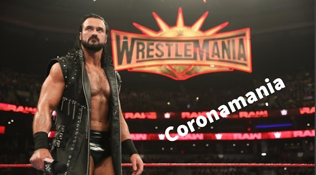 What is different in WrestleMania 36 after corona