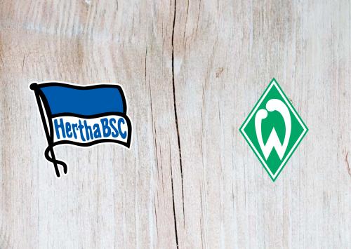 Hertha BSC vs Werder Bremen -Highlights 23 January 2021