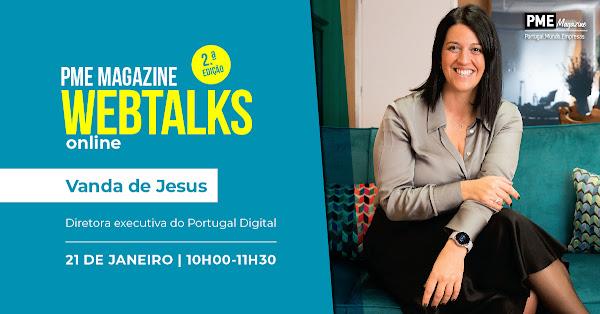 Vanda de Jesus é a figura de capa das PME Magazine Webtalks
