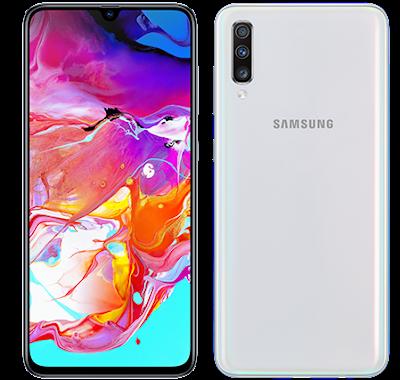 Galaxy A70 Phone White Colour