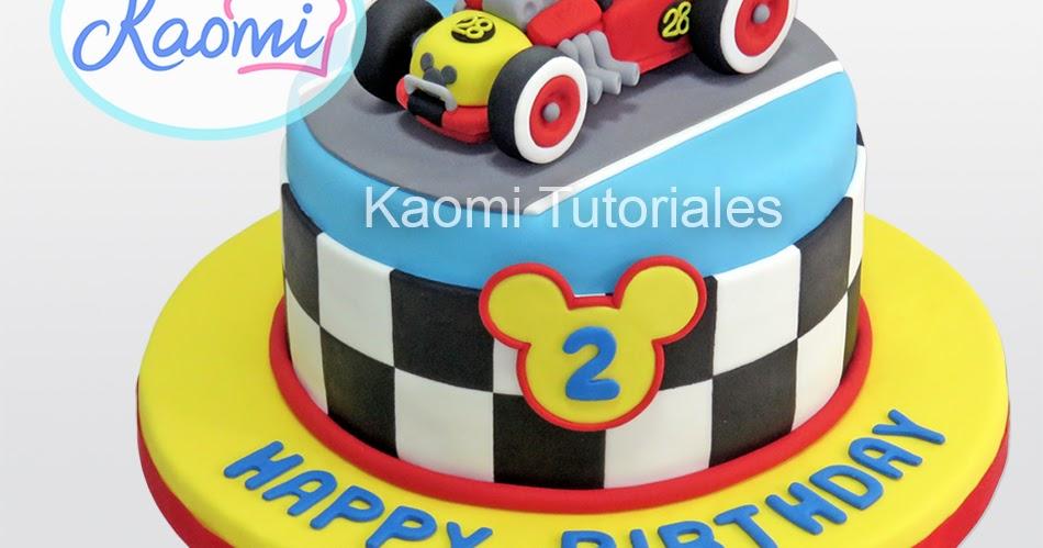 Kaomi Tutoriales C 243 Mo Hacer A Mickey Para Tortas Mickey