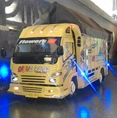 miniatur truk malang sound system