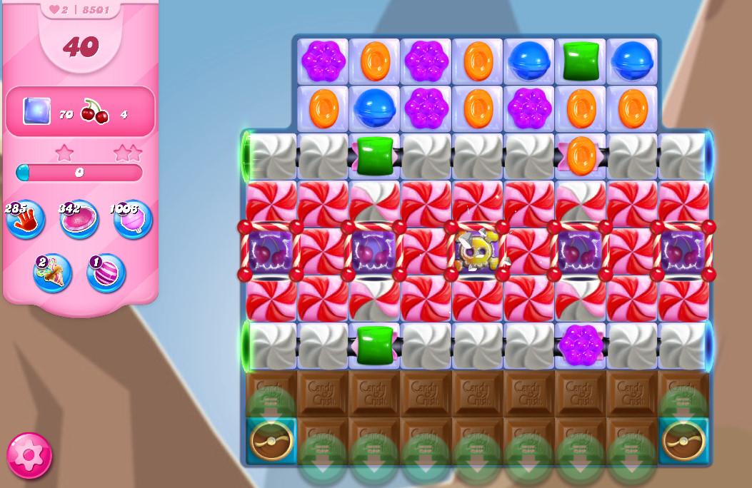 Candy Crush Saga level 8501