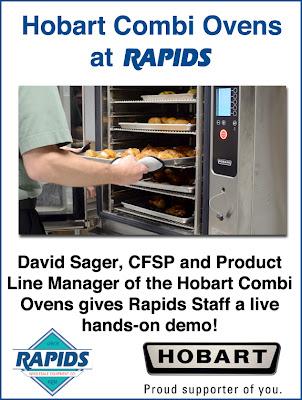 Hobart Combi Oven at Rapids Wholesale