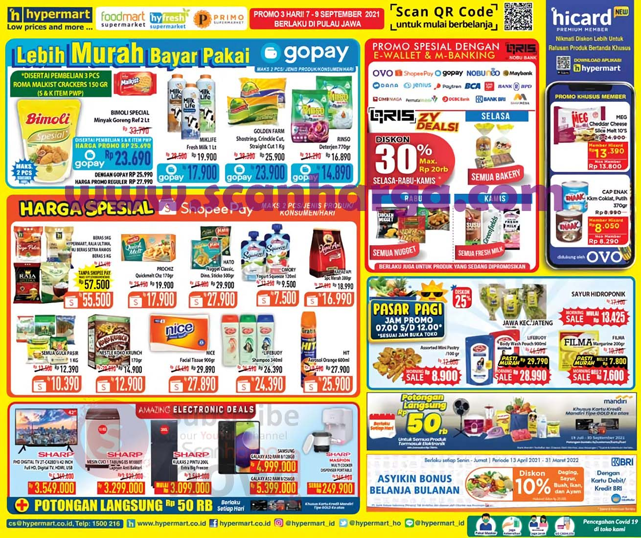 Katalog Promo Hypermart Weekday Terbaru 7 - 9 September 2021
