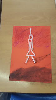 The Eiffel Tower at Sunset craft