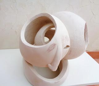 Merging sculpture in my shop
