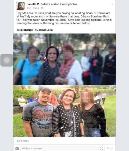 This Just In! Viral Photos May Prove That Senator De Lima Was In Baguio City In November 2015