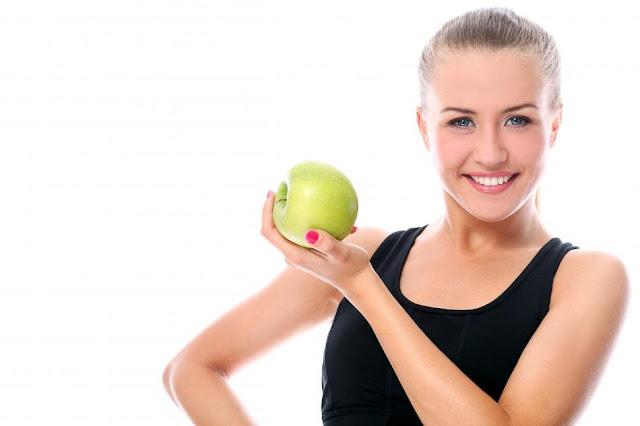 girl wallpaper and apple