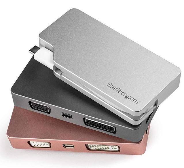 Startech USB-C Multiport 4-in-1 Video Adapter